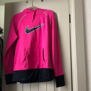 Pink Nike Hoodie.